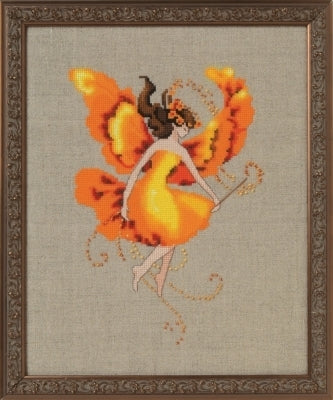 Mirabilia Autumn Flame NC251 victorian cross stitch
