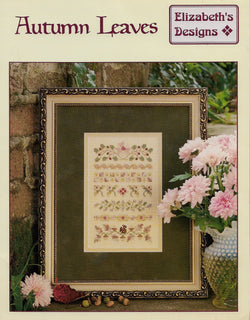 Elizabeth's Designs Autumn Leaves cross stitch pattern