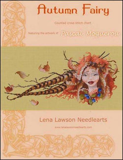 Lena Lawson Autumn Fairy cross stitch pattern