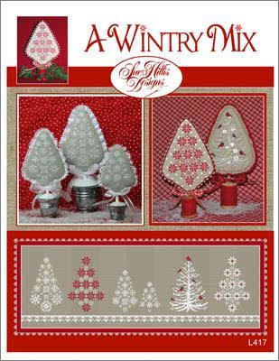 Sue Hillis A Wintry Mix L417 cross stitch pattern