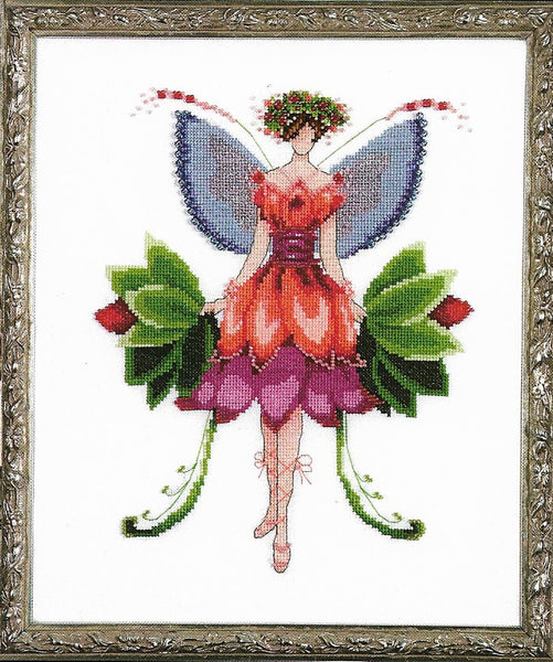 Mirabilia Azalea NC197 Pixie Couture victorian cross stitch