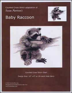 Baby Raccoon pattern