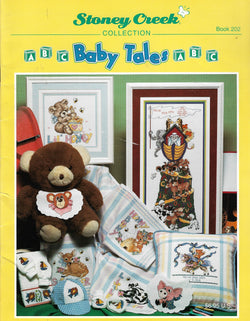 Stoney Creek Baby Tales BK202 cross stitch pattern