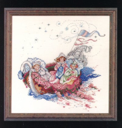 Mirabilia baby Boat MD16 cross stitch pattern