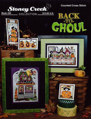 Stoney Creek Back to Ghoul BK428 Halloween cross stitch booklet