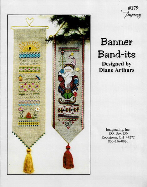 Imaginating Banner Band-its 179 christmas cross stitch pattern