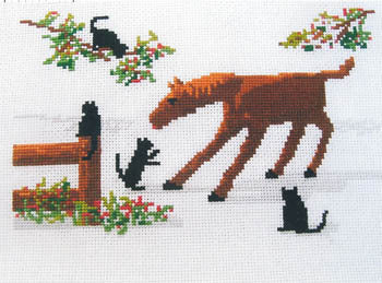 Diane Graebner Barnyard Friends, DGX-183 cross stitch pattern