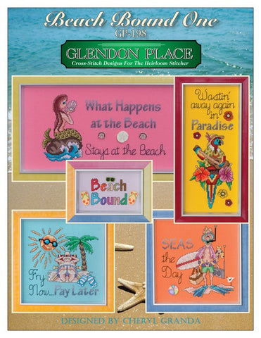 Glendon Place Beach Bound One cross stitch pattern