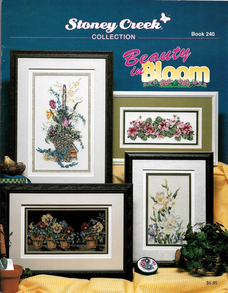 Stoney Creek Beauty in Bloom BK240 flowers cross stitch pattern