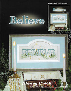 Stoney Creek Believe LFT115 cross stitch pattern