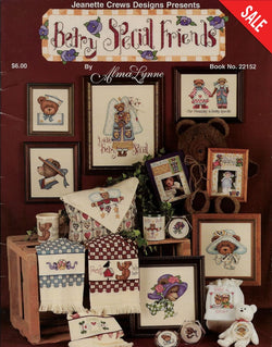 Jeanette Crews Berry special friends bears cross stitch pattern