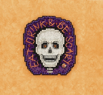 Mill hill Be Scary - Beaded Cross Stitch Kit MH18-1725