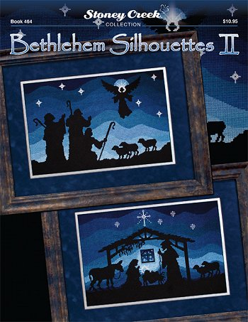 Stoney Creek Bethlehem Silhouettes II BK464 christmas cross stitch booklet