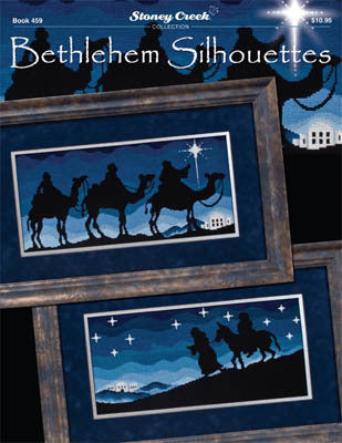 Stoney Creek Bethlehem Silhouettes I BK459 christmas cross stitch booklet