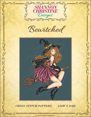 Shannon Christine Bewitched cross stitch pattern