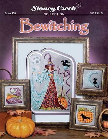Stoney Creek Bewitching pattern BK453 cross stitch pattern