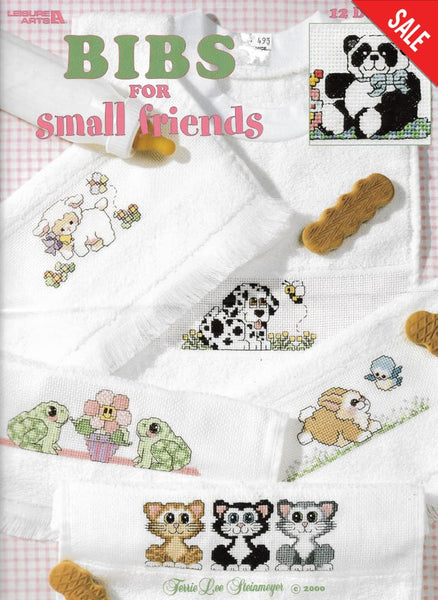 Leisure Arts Bibs for Small friends cross stitch pattern