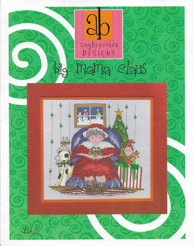 Amy Bruecken Big Mama Claus AB05 cross stitch pattern