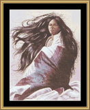 Mystic stitch Blanket Wrap II native american cross stitch pattern