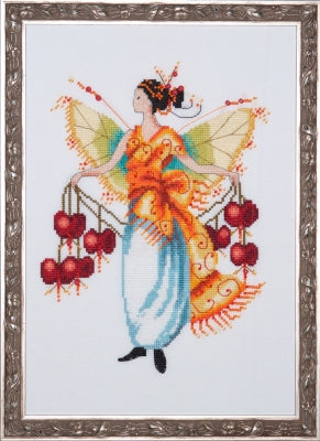 Mirabilia Bleeding Heart Nora Corbett NC230 cross stitch pattern