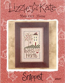 Lizzie Kate Bless Our Home LKS47 cross stitch pattern