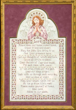 Glendon place Bless This Home Sweet Home GP-123 cross stitch pattern