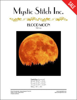 Mystic stitch Blood Moon NFP-89 cross stitch pattern