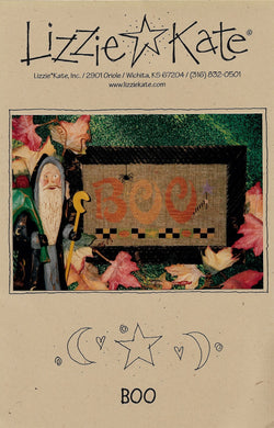 Lizzie Kate Boo LK004 Halloween cross stitch pattern