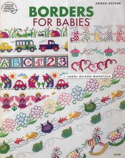 American School of Needlework Borders for Babies cross stitch pattern