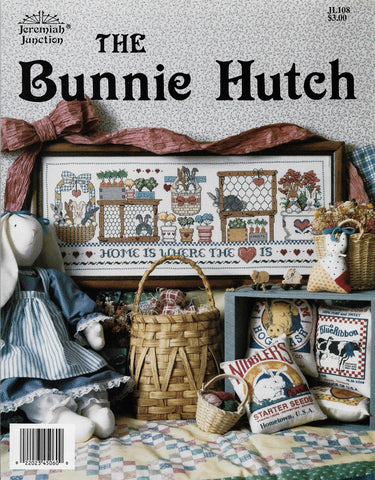 Jerimiah Junction The Bunnie Hutch amish cross stitch pattern
