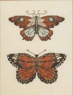 Mirabilia Butterflies of Gold NC105 cross stitch pattern