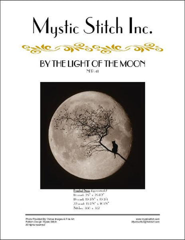 By The Light Of The Moon cross stitch pattern