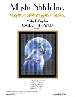 Mystic stitch Call of the Wild cross stitch pattern