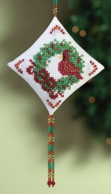 Mill Hill Cardinal beaded cross stitch kit MH22-0303