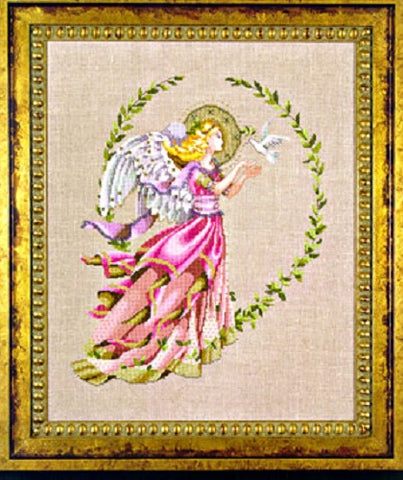 Mirabilia Caring Wings MD-73 victorian pixies cross stitch