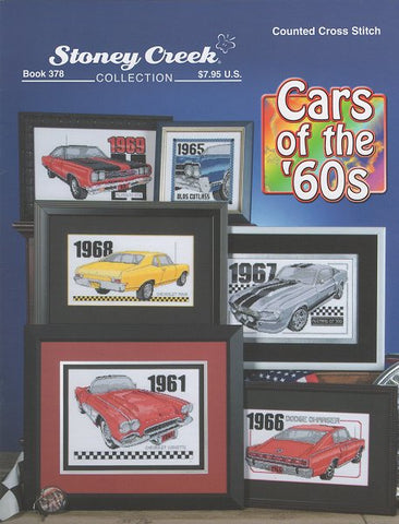 Stoney Creek Cars of the 60's BK378 cross stitch booklet