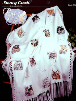 Stoney Creek Cats Meow BK334 cross stitch booklet