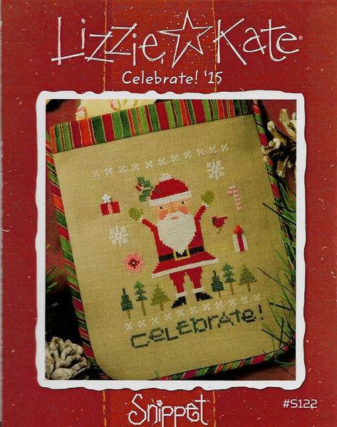 Lizzie Kate Celebrate! '15 Christmas cross stitch pattern