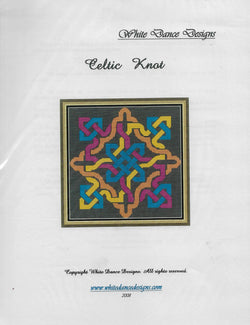 White Dance Designs Celtic Knot cross stitch pattern