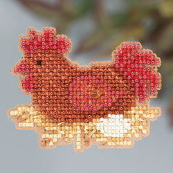 Mill Hill Chicken or the egg beaded cross stitch kit MH18-3206