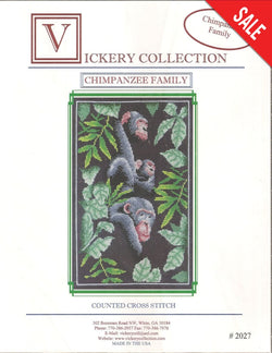 Chimpanzee Family Pattern Pattern