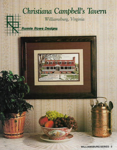 Ronnie Rowes Christiana Campbell's Tavern cross stitch pattern