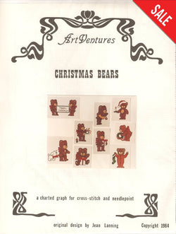 Christmas Bears Pattern Pattern