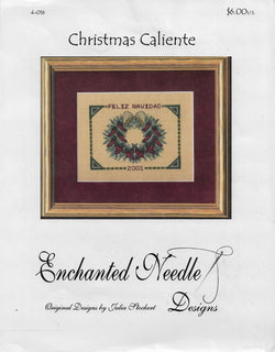 Enchanted Needle Designs Christmas Caliente cross stitch pattern