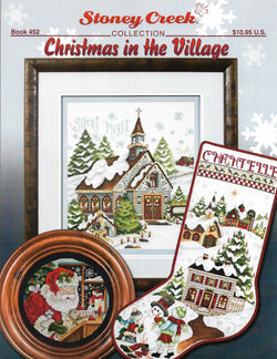 Christmas In The Village BK452 pattern