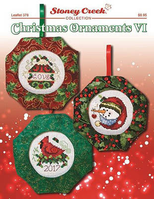 Stoney Creek Christmas Ornaments VI LFT378 cross stitch booklet