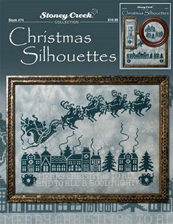Stoney Creek Christmas Silhouettes BK474 cross stitch pattern