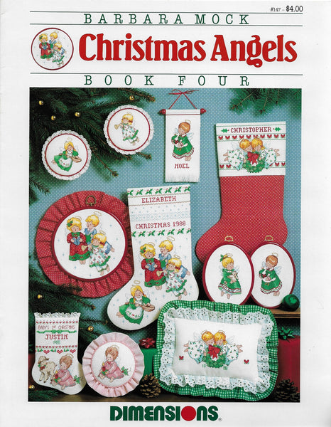 Dimensions Christmas Angels 147 cross stitch pattern
