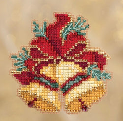 Mill Hill Christmas Bells beaded kit