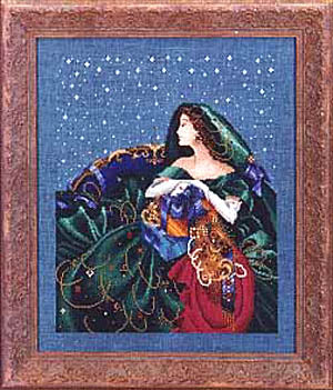 Mirabilia Christmas Elegance Nora Corbett MD-6 cross stitch pattern